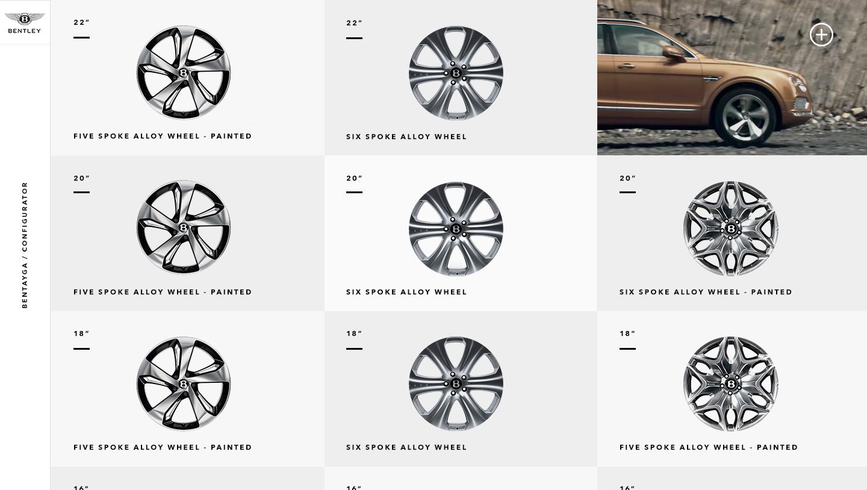 7 wheels options